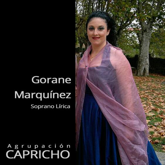 Gorane Marquínez - Soprano Agrupación Capricho