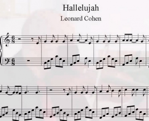 Halellujah, de Leonard Cohen